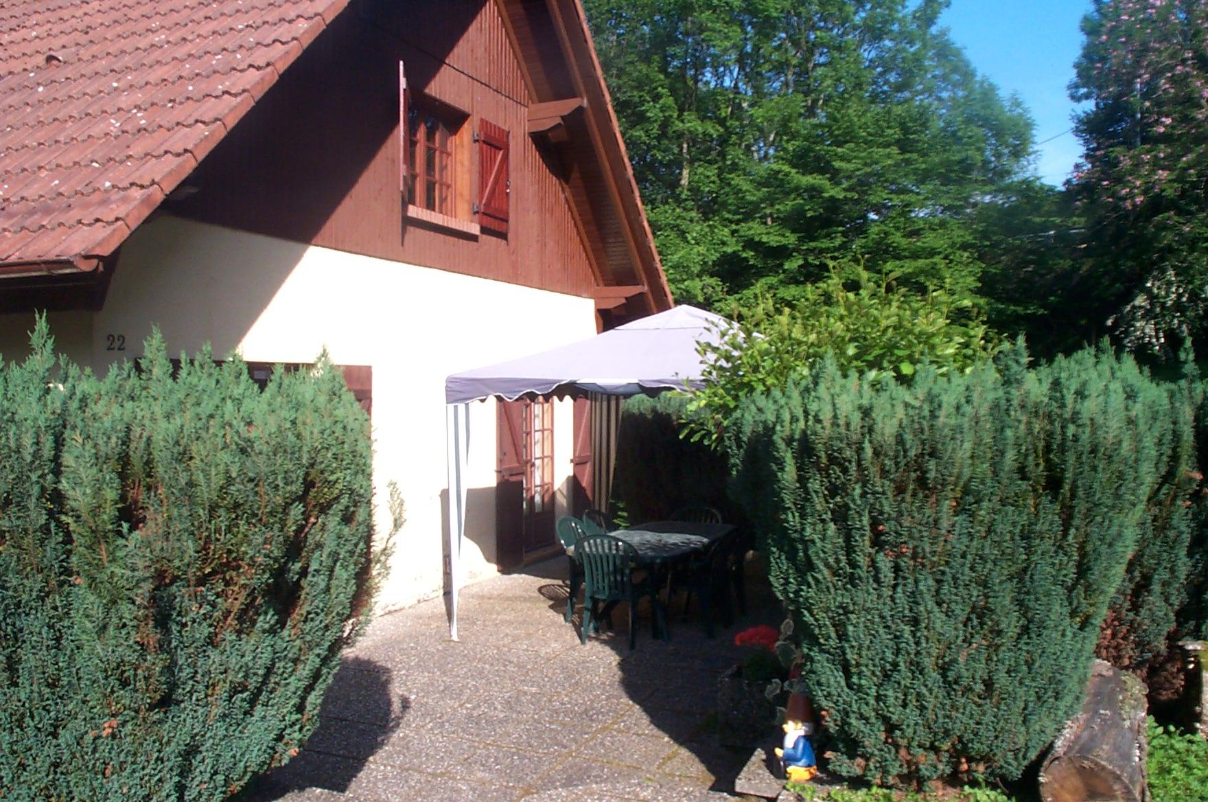 Ref. 1255 – Maison type chalet sur 19,60 ares