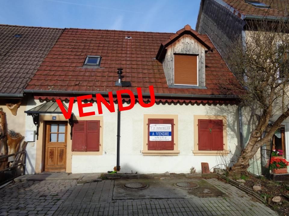 Ref. 1273 – Maison de village – VENDU
