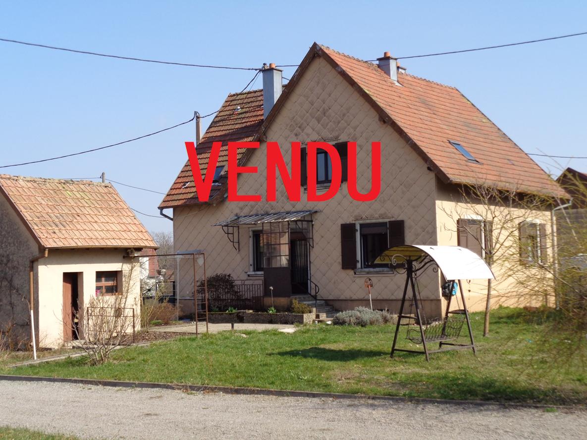 Ref. 1276- Maison 170m² avec jardin et dépendances sur 9,40 ares – VENDU